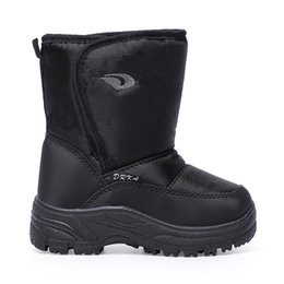 wholesale snow shoes NZ - Popular Winter Snow Boot Parent Child Outfit shoes Comfortable to Wear and Keep Warm Winter Cold Day Shoes Cotton Ankle High Boots