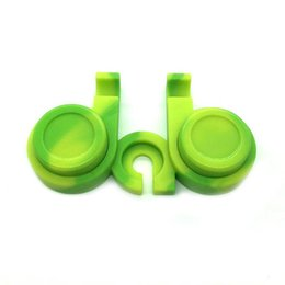 Circular Case Australia - Portable 10ML Colorful Silicone Box Nonstick 2*5ML Circular Wax Containers Container Jars Tool Case Storage Jar Oil Holder For Vape