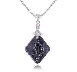 $enCountryForm.capitalKeyWord UK - Made in China fashion jewelry Woman Originality Ornaments Using Swarovski Elemental Crystal Necklace female High-end OL Pendant