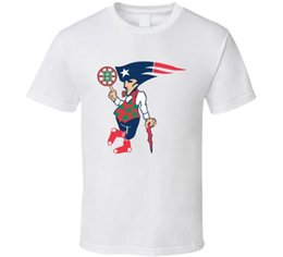China Boston New England Sports Teams T Shirt Patriots Bruins Red Sox Unisex Gift Tee Funny free shipping Unisex Casual cheap england patriots suppliers