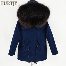 $enCountryForm.capitalKeyWord Australia - Mens Jackets Real Raccoon Fur Coats Faux Fur Ling Winter Long Parka Thick Natural Snow Clothes Warm Thick Outwear Plus Size