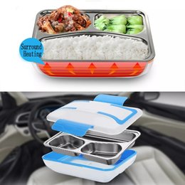 DC 12V 45W 1.2L Portable Car Truck Electric Heating Lunch Box Food Warm Heater Storage Container