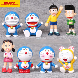 $enCountryForm.capitalKeyWord Australia - 8 Pcs set Q Version Doraemon Dorami Nobita Nobi Minamoto Shizuka Honekawa Suneo Plastic Action Collectible Model Toy 5.5-8CM OPP G140