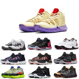 7925f634f5f 2019 original basketball shoes men kyrie shoes FlyTrap sports designer 5 II sneakers  shoes top size 40-46
