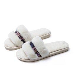 Pantofola peluche leggera calda piatta casual interna portatile antiscivolo per donna Lasperal in Offerta