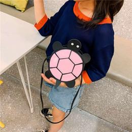 $enCountryForm.capitalKeyWord NZ - 2019 summer new shoulder   cute turtle Messenger bag tide boys and girls mini cartoon bag