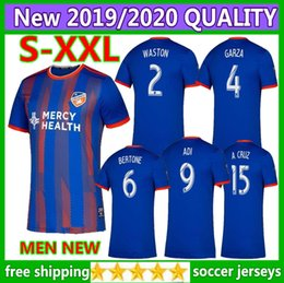 610db9c06 Size S-XXL 2019 2020 FC Cincinnati soccer jersey 19 20 Thai quality MLS  GARZA WASTON BERTONE ADI A.CRUZ football shirt