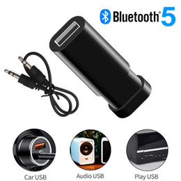 usb audio jack music NZ - Bluetooth 5.0 Audio Receiver Transmitter Wireless Stereo Music 3.5mm AUX Jack RCA Audio Receptor USB Mini Bluetooth Adapter