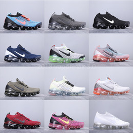 Toed running shoes online shopping - Hot sale air vapormax V Running shoes womens tn plus Trainer Sneakers beture Sports outdoor men s Olive classic casual shoes