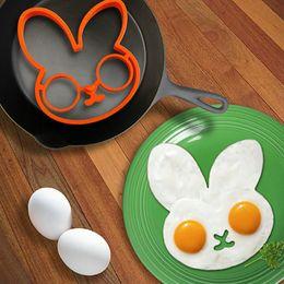 $enCountryForm.capitalKeyWord Australia - 1PCS Orange Silicone Bunny Cartoon Fry Egg Frame Egg Mold Pancake Rings Shaper Omelette Mould Kitchen Tool sui0171