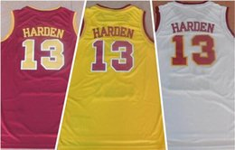 Discount clothes shopping men 13 HARDEN College Basketball JerseyS,wholesale Personality College Basketball Wears,sports fan shop online store for sal