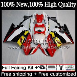 Honda Cbr F2 Red Fairings Australia - Body For HONDA CBR 600F2 FS Red white CBR600 F2 91 92 93 94 46PG22 CBR600FS CBR 600 F2 CBR600F2 1991 1992 1993 1994 Hot Fairing Bodywork