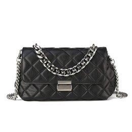 $enCountryForm.capitalKeyWord Australia - Women's Genuine Leather Quilted Chain Bag Shoulder Handbags Purse
