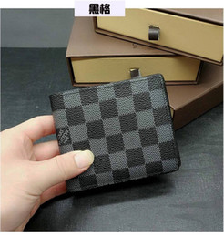 $enCountryForm.capitalKeyWord Australia - High-quality pu leather fashion cross-wallet men's designer card wallets pocket bag European style brand purses with box with box
