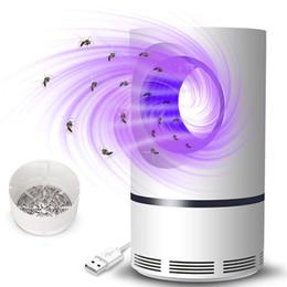 Ingrosso LED zanzara lampada LED Photocatalyst zanzara lampada USB alimentato non tossico UV Protection Muto della zanzara della lampada