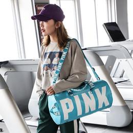 Fold big bag online shopping - Pink Letter Handbags Women Shoulder Bags Love Pink Waterproof Shopping Bag Handbag Big Kids BagsLarge Capacity Travel Tote