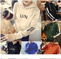 Cashmere sport Coat men online shopping - Men s new autumn and winter leisure sports cap and even Korean students thick long sleeved sweater cashmere coat