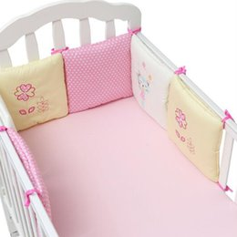 hot baby bedding NZ - Hot 6 Pieces   Each Crib Protection Mat Crib Fence Fence Baby Bedding Set Slide Rail