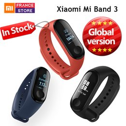 Wholesale Global Version Xiaomi Mi Band Smart Bracelet Miband Caller ID inch OLED Touch Screen Message Display Fitness Tracker