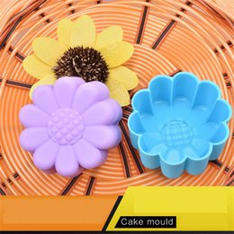 $enCountryForm.capitalKeyWord Australia - 600pcs lot New arrival Flower Shaped Silicon Cake Baking Molds Jelly Mold Silicon Cupcake Muffin Cup