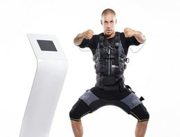 Body Fitness Suit Australia - body strong fitness equipment ems fitness machine Xbody Electrofitness Machine Suit,Muscle Stimulator Ems Xbody For Athletes