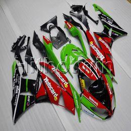 $enCountryForm.capitalKeyWord Australia - 23colors+Gifts Injection mold red green black motorcycle cowl for Kawasaki ZX6R 2009 2010 2011 2012 ABS motor Fairing