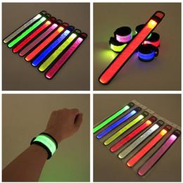 $enCountryForm.capitalKeyWord UK - LED Patting Luminous Wrist Band Outdoor Activities Arm Band Night Running Bracelet Concert Light Fluorescent Bracelet Luminous Arm Bands New