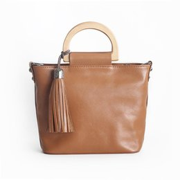 Vintage leather computer bag online shopping - Handbag Luxury Women Bags Genuine Leather Shoulder Bag Ladies Small Tote Bags Messenger Hand For Women Bolsa Sac Main