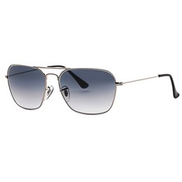 Vintage styles glasses online shopping - 3136 caravan style square sunglasses men women plastic polarized glass lens vintage sun glasses Oculos De Sol