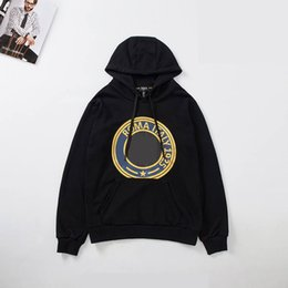 Cool man belt online shopping - Designer Men Brand Hoody Fashion Cool Man Street Luxury Long Sleeve Hoody with Hat Brand Black Mysteries Hoody Size From M To XL