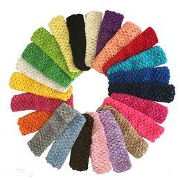 "$enCountryForm.capitalKeyWord NZ - 1.5"" Baby Girl Crochet Headband Tutu Top Waistband For Girls Tutu Skirt and Flower Headband DIY Craft Tutu Boutique Supply Hair Accessories"