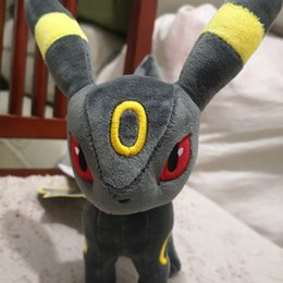 Wholesale 2019 High Quality Standing Umbreon Stuffed Plush Doll Soft Baby Toy cm Umbreon Christmas Gift For Children