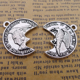 stamps for jewelry NZ - 60PCS Hand Stamped Alloy Spartan Warrior DIY Charms Dangle For DIY Jewelry Gifts 25*25mm