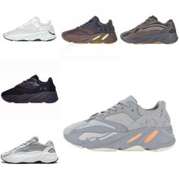 $enCountryForm.capitalKeyWord NZ - Wholesale New Kanye West 700 Wave Runner Mens Casual Shoes Womens Athletic 700s Sports Running Sneakers size 5.5-11