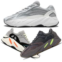 buy popular 3886e 6b264 2019 Nuevo Static Wave Runner 700 V2 Malva Kanye West Sneakers 3M Material  Hombre Mujer Zapatillas Deportivas Con Caja Tamaño US5-US13