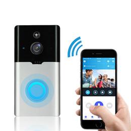 $enCountryForm.capitalKeyWord Australia - New ML-M6 Villa Visual Cat Eye Doorbell Camera Smart Home Two-way Voice Intercom Remote Surveillance Camera