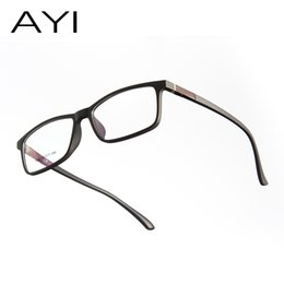 863bd9044 Liga de titânio óptico óculos de armação dos homens ultraleve praça miopia  óculos de prescrição 2019 masculino metal completa sem parafusos eyewear