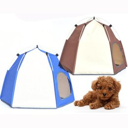 $enCountryForm.capitalKeyWord Australia - Automatic Opening Pet Tent pop up Shelter Pets Tent for Dog and Cat With Individual Packaging Bag