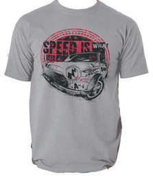 Race Tees Australia - Speed is what I need t shirt beetle mini car racing s-3xl Men Women Unisex Fashion tshirt Free Shipping Funny Cool Top Tee Black
