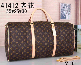 Wholesale First And Fashion Brand DUFFLE BAG RED M53419 BANDOULIERE Man And Women Duffel Bags keepall