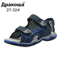 sandal kids brand 2019 - Apakowa Summer Kids Shoes Brand Open Toe Boys Sport Beach Sandals Orthopedic Arch Support Children Boys Sandals Shoes EU
