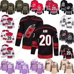 7fee5921a65 Carolina Hurricanes 20 Sebastian Aho Jersey 2019 All Stitched Men Women Youth  Kid size S-3XL Home Away Cheap