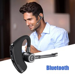 Discount business bluetooth headset - V8S Business Bluetooth Headset Wireless Earphone Car Bluetooth Hands-free Microphone CSR-8615 Chips Stereo Music Headset