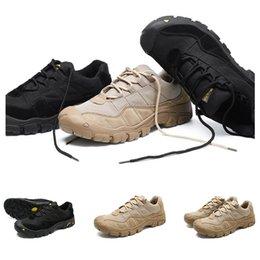 2020 Whole vente Chaussures de randonnée hommes chaussures de sport Livraison gratuite noir dropshipping brun Antiderapant sneakers sport Respirant formateurs Taille 38-46 en Solde