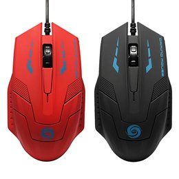 Pc 3d games online shopping - Black USB Wired D Optical LED Gaming Game Mouse Mice DPI For Laptop PC