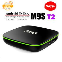 Best Media Player Android Australia - Best M9S T2 Allwinner H3 1G 8G Android 7.1 TV BOX Quad Core Ultra HD H.265 4K Stream Media Player Better Amlogic S905W TX3 X96 RK3328 S905X2