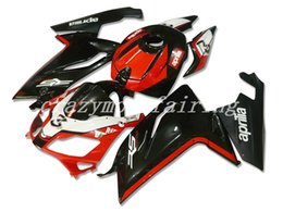 motorcycle aprilia fairing NZ - New style ABS Injection Mold motorcycle Fairings Kits 100% Fit For Aprilia RS125 06 07 08 09 10 11 2006-2011 bodywork set black red