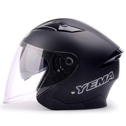$enCountryForm.capitalKeyWord Australia - Hot sale Men Women Motorcycle Helmets Open Face Dual Lens Visors Scooter Motorbike Moto Bike Helmet Free Shippin
