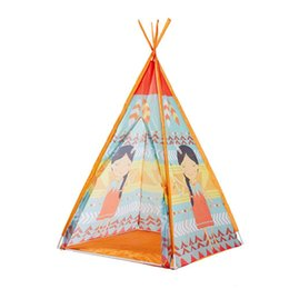 $enCountryForm.capitalKeyWord Australia - Indian Children's Tent Ethnic Wind design Baby Toys tents Yurts Princess Mosquito Nets Game funny House