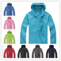 Ultra thin jacket online shopping - Unisex NF Ultra Thin jackets mens designer jackets The North Sunproof jacket Face Outdoor Waterproof Climbing Quick Dry Brand Coat C53007